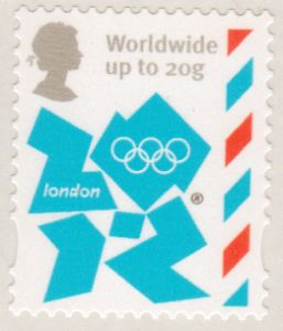 SG3253 Worldwide up to 20g Olympic Definitive Stamp Self Adhesive DLR Print